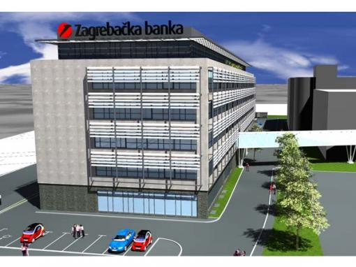 Mjerenje deformacija prilikom izgradnje objekta Zagrebačka banka